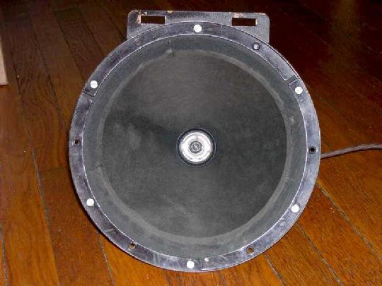 repaired speaker front view