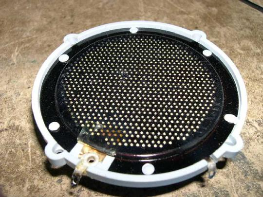 EMUD Electrostatic tweeter before repair